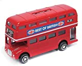 LONDON SOUVENIR ダイキャストマネーボックス (ロンドンバス) -