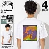 [ステューシー] STUSSY Tシャツ 半袖 メンズ Fire On Babylon サイズXL ホワイト [並行輸入品]
