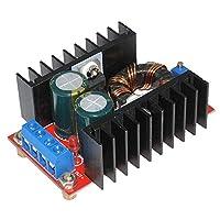 150ワットdc-dcブーストコンバータ10-32ボルトに12-35ボルト6aステップアップ電圧の充電器電源