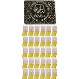 IYARA 30 Edible Gold Leaf Sheets ? Multipurpose 24 Karat Yellow Gold Leaves For Food And Cake Decoration Spa Anti-Wrinkle Fac