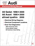 Audi A6: Electrical Wiring Manual : A6 Sedan 1998, 1999, 2000 : A6 Avant 1999, 2000 : Allroad Quattro 2000 (Audi)