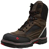 WolverineメンズOverman Nano Toe Ins 8 wpf Work Boot カラー: ブラウン