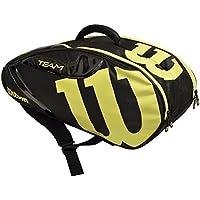 Wilson(ウイルソン) テニスラケットバッグ TEAM JP (チーム JP) 6本収納可能