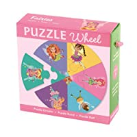 Fairies Puzzle Wheel