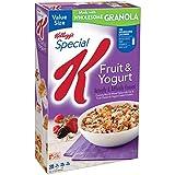 ケロッグ スペシャル K シリアル、フルーツ、ヨーグルト、19.10 オンス Special K Kellogg's Cereal, Fruit and Yogurt, 19.10 Ounce