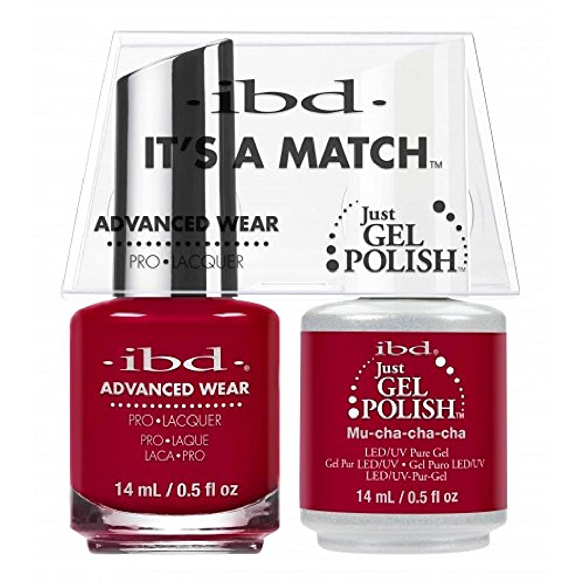 カーフ暗殺者機関ibd - It's A Match -Duo Pack- Love Lola Collection - Mu-Cha-Cha-Cha - 14 mL / 0.5 oz Each