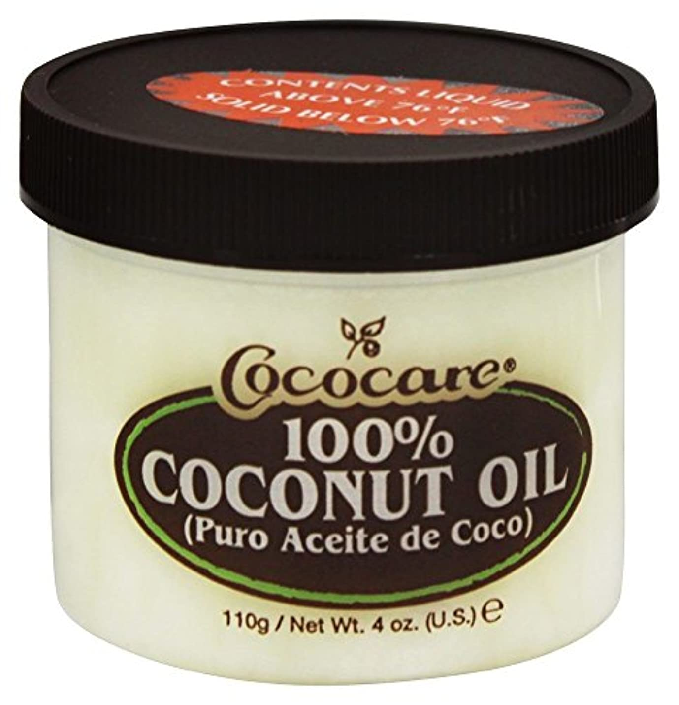 収束火傷担保Cococare - 100% ココナッツ オイル - 4ポンド [並行輸入品]