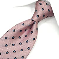 ネクタイ ブランド レノマ ネクタイ (8cm幅) RE52 ピンク/ブルー [並行輸入品]
