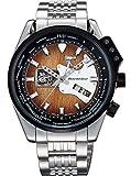 [オリエント]ORIENT 腕時計 ORIENTSTAR オリエントスター レトロフューチャー ギターモデル 機械式 自動巻き (手巻き付き)  WOOD WZ0191DA メンズ