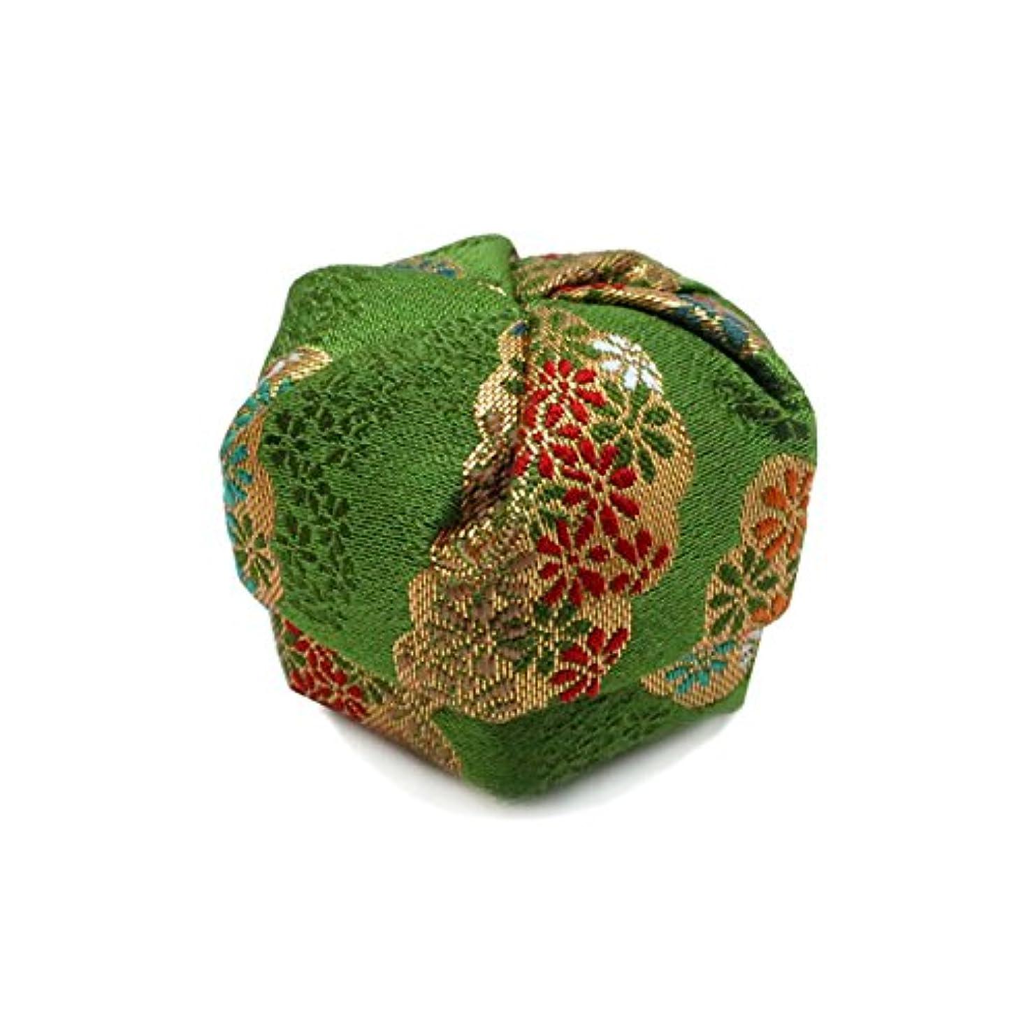 ハッピーかわいらしい光景布香盒 緑系 紙箱入