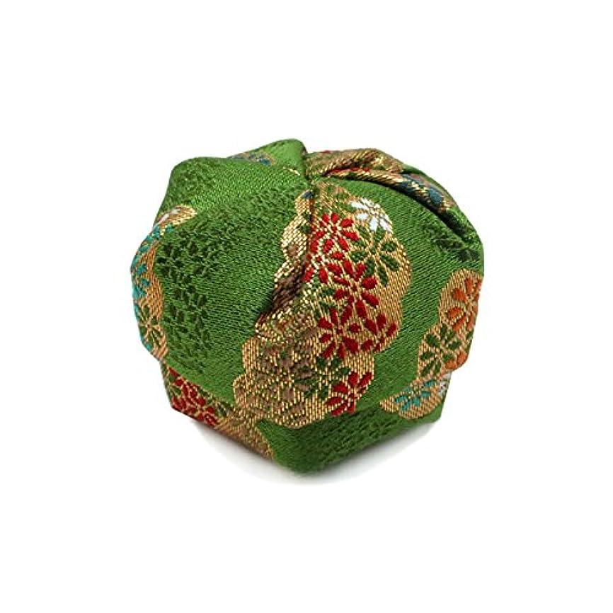 精緻化男ブレーク布香盒 緑系 紙箱入