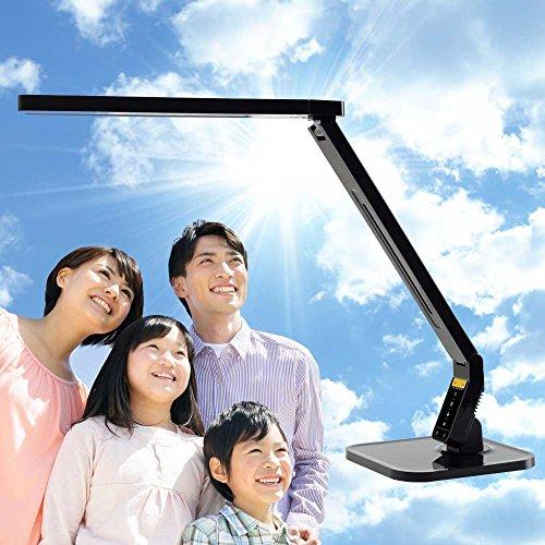 コスモテクノ 自然光 LEDデスクライト PRO(ブラック)