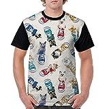 コンバーススニーカー Tシャツ 半袖 猫 スニーカー コンバース メンズ 丸首 今季最新 量軽 爽快 3Dプリント 薄手 吸汗速乾 ファッション おしゃれ