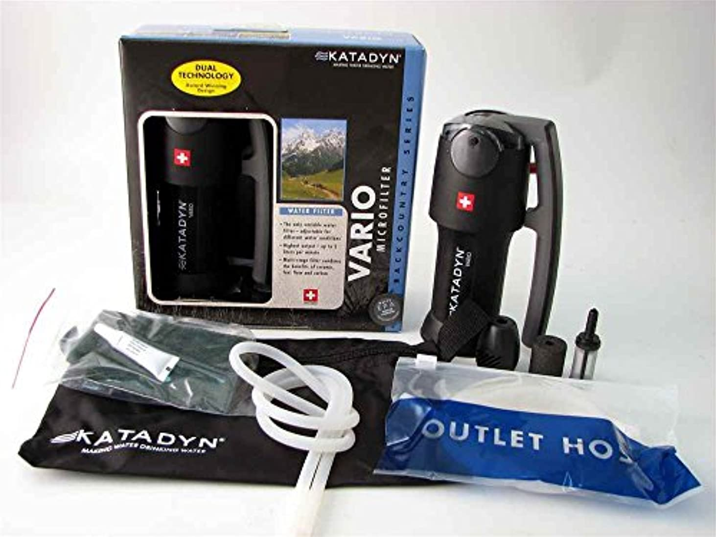 振りかける応用明示的にKatadyn Vario Micro Filter by Mayday Industries