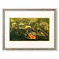 ポール・ゴーギャン Eugene Henri Paul Gauguin 「L'Univers est cree」 額装アート作品