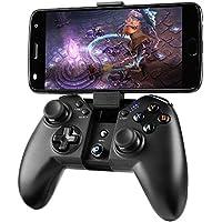 Madgiga bluetooth ゲームパッド android コントローラー bluetooth pcゲーム コントローラー ワイヤレス/Bluetooth/有線接続/WindowsPC/Android/PS3/Samsung Gear VRなど対応 振動機能 高耐久ボタン USBケーブル同梱