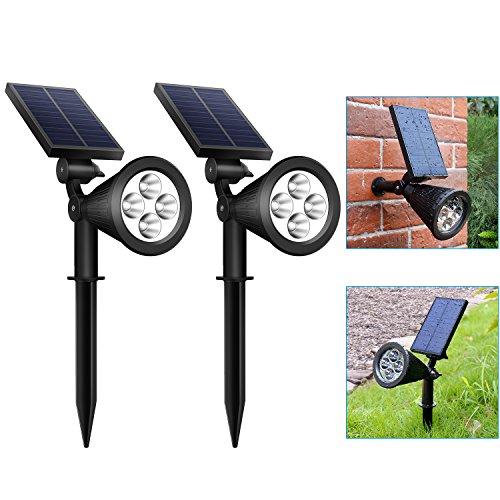 COOWOO ソーラーライト ガーデンライト ソーラー 高輝度 IP65防水