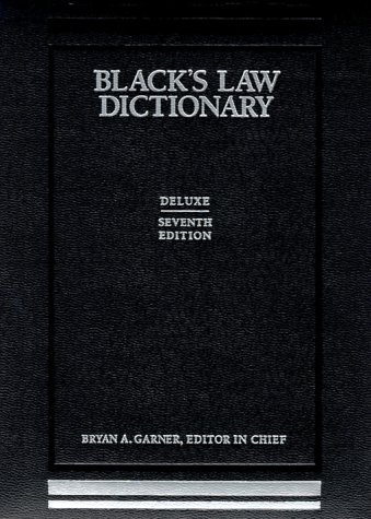 Download Black's Law Dictionary: Deluxe Thumb-Index 0314241302