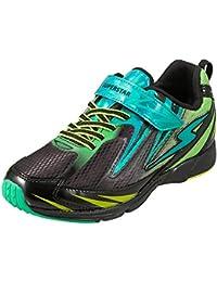[スーパースター] 運動靴 通学履き 軽量 マジック ゆったり 2E キッズ SS J822