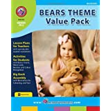 Rainbow Horizons Z103 Bears Theme Value Pack - Grade PK to 2