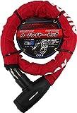 OSS ( 大阪繊維資材 ) ワイヤーロック GUARDIAN LOCK ハードワイヤー・ビッグ Red HWB-1000
