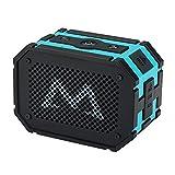 Mpow 防水スピーカー ポータブル Bluetoothスピーカー 強力なドライブ 防水/防塵/耐衝撃 野外/お風呂などに対応 非常用電源付き(ブルー)