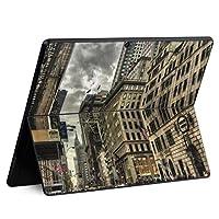 igsticker Surface Pro X 専用スキンシール サーフェス プロ エックス ノートブック ノートパソコン カバー ケース フィルム ステッカー アクセサリー 保護 005933 写真・風景 写真 建物 空