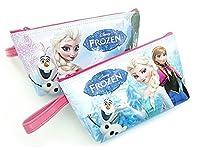 アナと雪の女王 化粧ポーチ マルチ小物入れ COSMETIC pouch フローズン アナ エルサ オラフ キャラクター frozen 193903 ウォルト・ディズニー Walt Disney Let It Go Anna Elsa Olaf 公式ライセンス商品 86-1 (オラフ&エルサ)