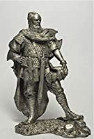 HISTORICAL TIN FIGURES GERMAN SOLDIER WITH SWORD 170 - 180 BC 75MM FI12
