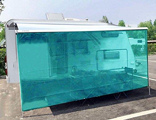 tentproinc RVオーニング窓サンシェードNet CompleteキットドロップMotorhomeトレーラーSun Blocker画面Retractable TarpメッシュキャノピーShelter???3年保証Limited 7' * 17' T