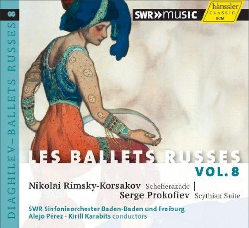 ディアギレフとロシア・バレエ団の音楽 Vol.8 (Les Ballets Russes Vol.8 / Nikolai Rimsky-Korsakov, Serge Prokofiev) [輸入盤]