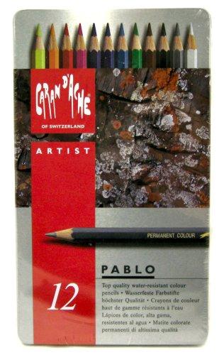 カランダッシュ パブロ色鉛筆 12色セット