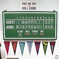 Baseball Time Hanging Scoreboard 野球タイムハンギングスコアボード?ハロウィン?クリスマス?