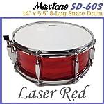 Maxtone/マックストーン SD-603/Laser Red スネア