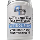 Retinol + Complete Anti-Ageing Facial Moisturiser Cream with Hyaluronic Acid & Breakthrough Anti Wrinkle Complex - For Face and Eye Area