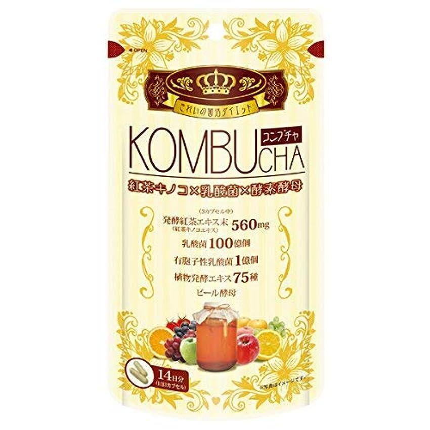 個人吹雪組み合わせるユーワ YUWA KOMBUCHA 42粒 コンブチャ(腸活 菌活) 2個セット