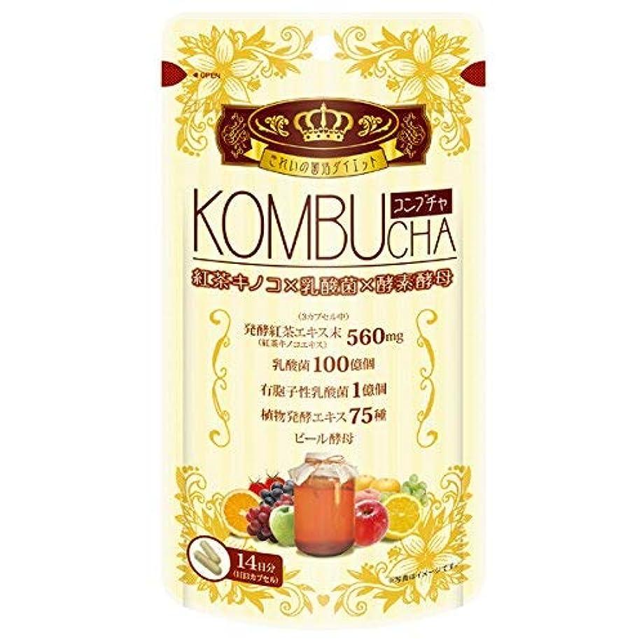 正気白鳥通信するユーワ YUWA KOMBUCHA 42粒 コンブチャ(腸活 菌活) 2個セット