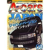 A cars (アメリカン カーライフ マガジン) 2008年 09月号 [雑誌]