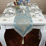 YKFN ファッション 現代 テーブルセンター テーブルランナー 高級感 ギフト おしゃれ こだわり おもてなし リビング シンプル  敷物 贈り物 雑貨 フリンジ付き