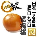 日本一の柿!! 和歌山 九度山の富有柿 真空パック 秀品 2L寸 21玉