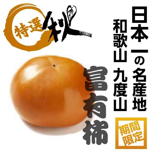 日本一の柿!! 和歌山 九度山の富有柿 秀品 2L寸 28玉
