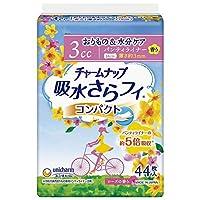 ユニチャーム チャームナップ 吸水さらフィ コンパクト ローズの香り 44枚(3cc)