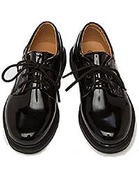 (シーズザデイ) Seize the Day 子供 靴 フォーマル シューズ エナメル オックスフォード 男の子 ジュニア キッズ レザー 履きやすい 紐靴 革 フラット 入学式 卒業式 結婚式 発表会 七五三