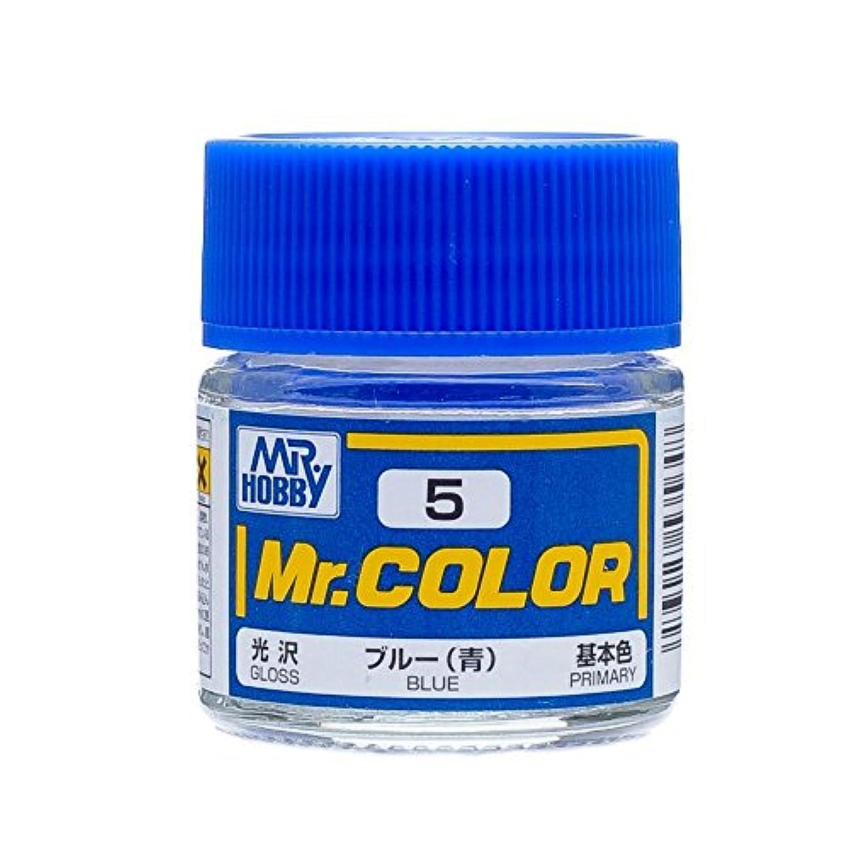 【溶剤系アクリル樹脂塗料】Mr.カラー C5 ブルー (青)