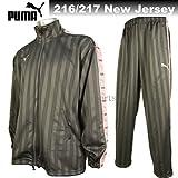 (プーマ) PUMA ジャージ 上下 メンズ ジャージ 上下 862216-862217-94 ダークシャドウ×ピンク 上 L~O と 下 L