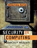 Cover of Security in Computing