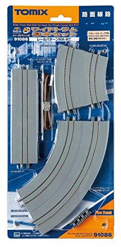 TOMIX Nゲージ 91086 ワイドトラムミニレールセット基本セット (MA-WTパターン)