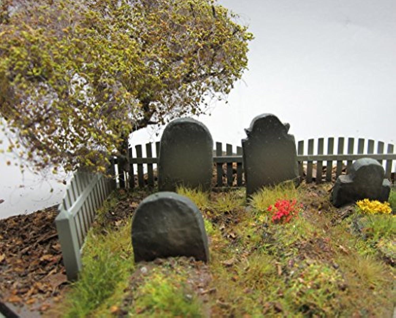 Echelle 1/35 Marqueurs Tombe Tomb Stones 4 assortis