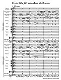 バッハ, J. S.: マタイ受難曲 BWV 244/新バッハ全集版 画像