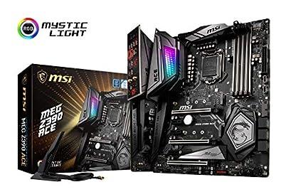 MSI MEG Z390 ACE ATX ゲーミングマザーボード [Intel Z390チップセット搭載] MB4612
